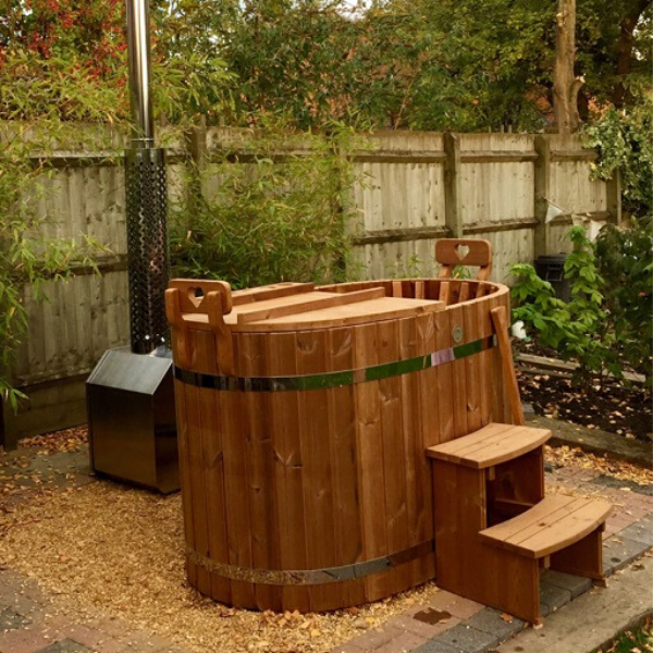 Naked Flame LuvTub Wood Fired Hot Tub - Stove Supermarket