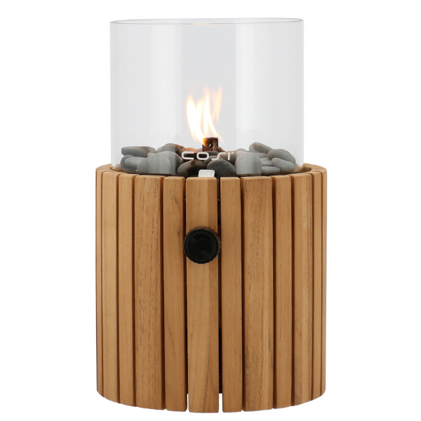 Pacific Lifestyle Cosiscoop Timber Garden Table Top Fire Lantern