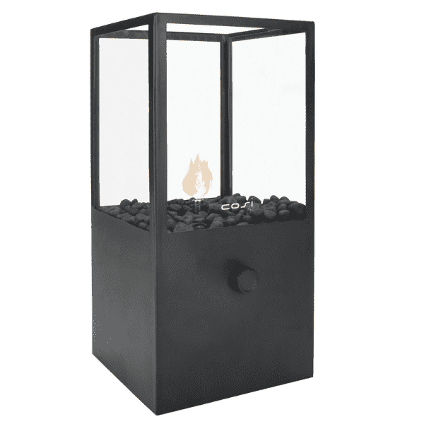 Cosidome High Black Fire Lantern - Stove Supermarket