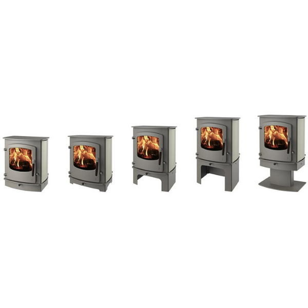 Charnwood Cove 2 BLU Multi Fuel / Wood Burning Stove - Stove Supermarket