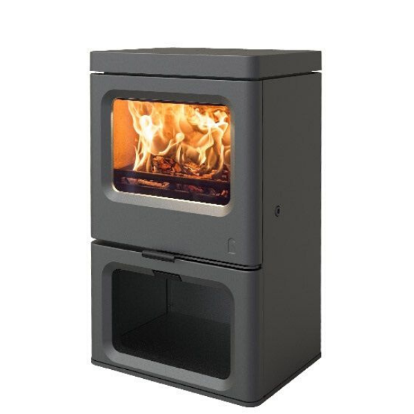 Charnwood SKYE 5 Multi Fuel / Wood Burning Stove - Stove Supermarket