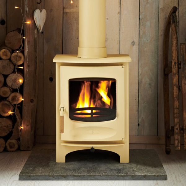 Charnwood C-SIX BLU Wood Burning Stove - Stove Supermarket