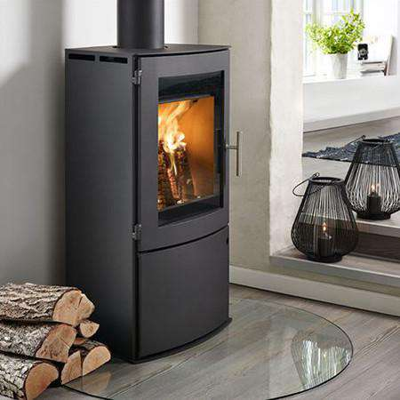 Westfire Uniq 18 Log Door Wood Burning Stove