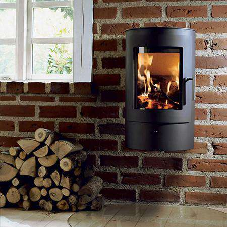 Westfire Uniq 21 Wall Hanging Wood Burning Stove