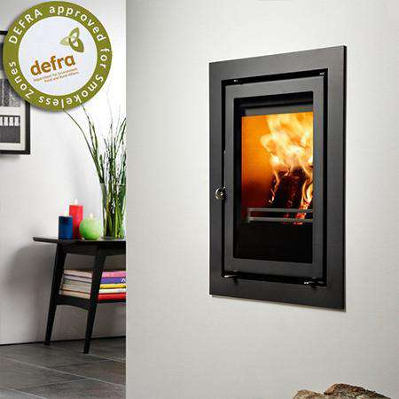 Westfire Uniq 35 Inset Multi Fuel / Wood Burning Stove