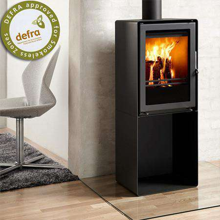 Westfire Uniq 35 Pedestal Multi Fuel / Wood Burning Stove