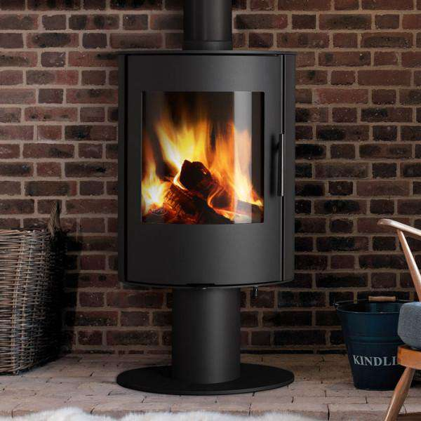 Aga Lawley Pedestal Wood Burning Stove - Stove Supermarket