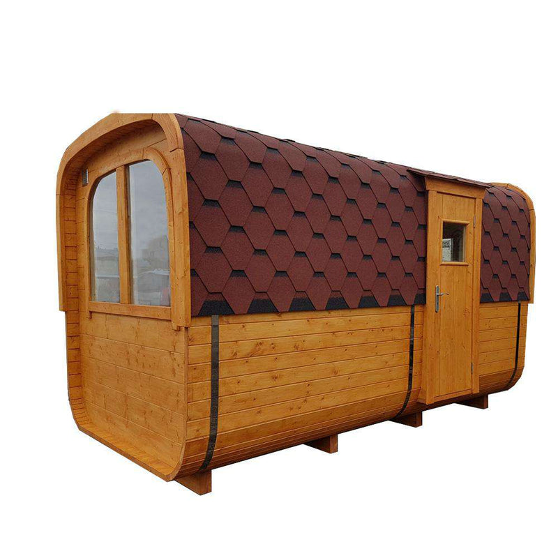 Naked Flame Box Sauna And Accommodation Wood Fired Sauna - Stove Supermarket