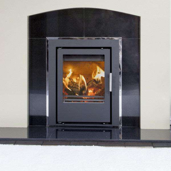 Mendip Christon 400 Inset SE Multi Fuel / Wood Burning Stove - Stove Supermarket