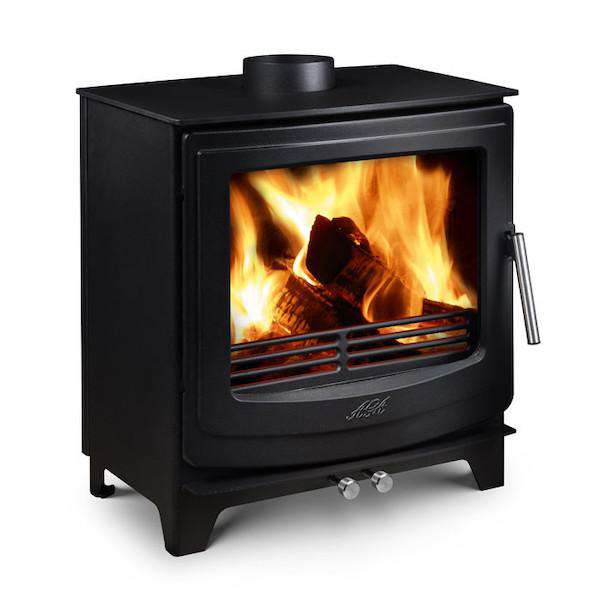 Aga Ellesmere EC5W Wide Multi Fuel / Wood Burning Stove - Stove Supermarket