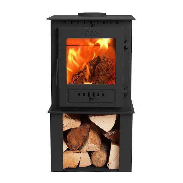 Esse 1 SE Wood Burning Stove - Log Store - Stove Supermarket