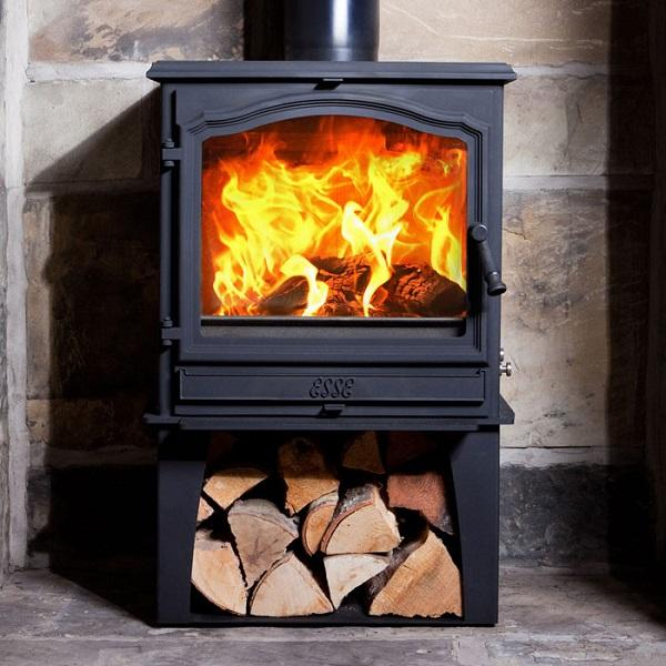 Esse 700 Vista SE Multi Fuel / Wood Burning Stove -With Log Store