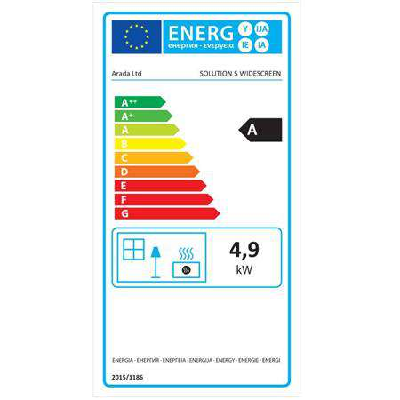 Hamlet Solution 5 Widescreen Energy Label