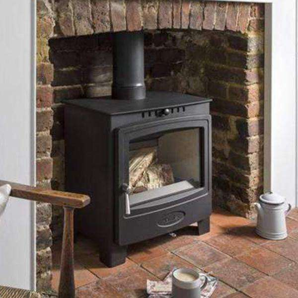Hamlet Solution 5 Widescreen Multi Fuel / Wood Burning Stove - Stove Supermarket