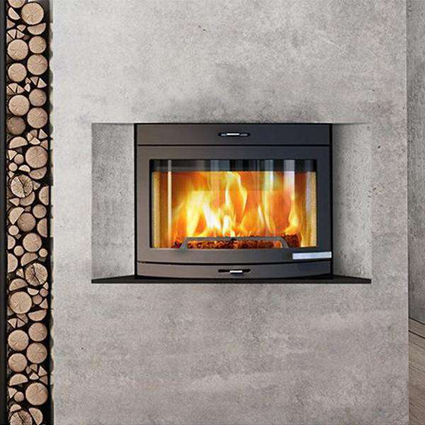 Jøtul I400 Panorama Insert Wood Burning Stove - Stove Supermarket