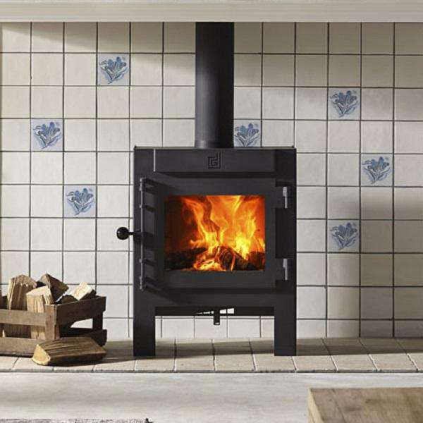 Dik Geurts Jannik Large Wood Burning Stove - Stove Supermarket