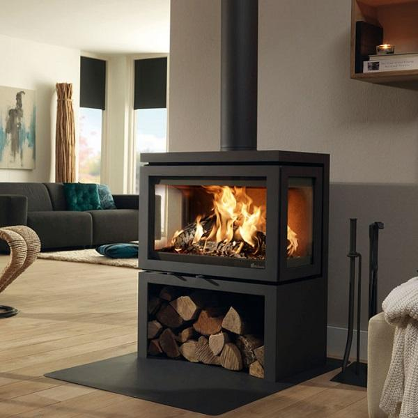Dik Geurts Vidar Triple Wood Burning Stove - Stove Supermarket