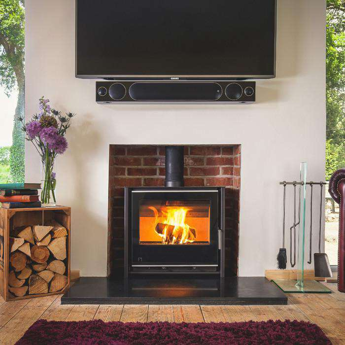 Arada iSeries i600 Low Slimline Freestanding Multi Fuel / Wood Burning Stove - Stove Supermarket