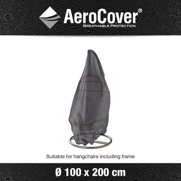 A Waterproof & Dirt Resistant Hanging Chair Aerocover 100x200cm