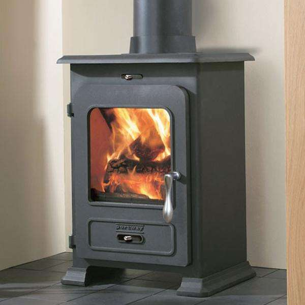 Portway 1 Traditional Multi Fuel / Wood Burning Stove - Stove Supermarket