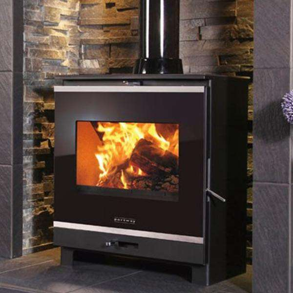 Portway 2 Glass Multi Fuel / Wood Burning Stove - Stove Supermarket