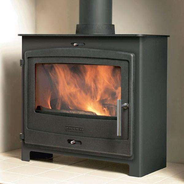 Portway 3 Contemporary Multi Fuel / Wood Burning Stove - Stove Supermarket