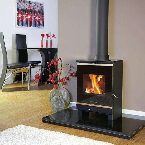 Portway 1 Glass Multi Fuel / Wood Burning Stove - Stove Supermarket