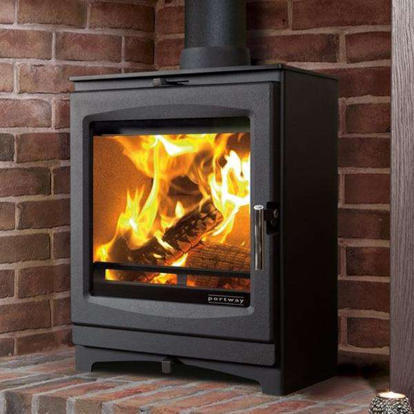 Portway Luxima Multi Fuel / Wood Burning Stove - Stove Supermarket