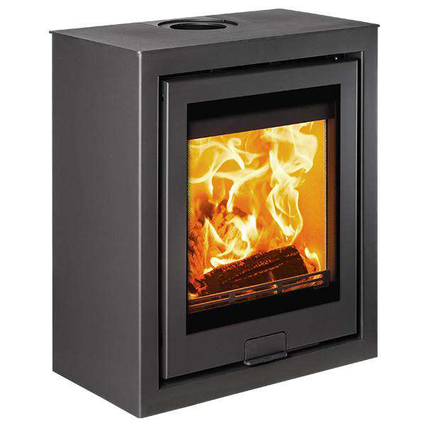 Di Lusso R5 Cube Multi Fuel / Wood Burning Stove - QUATTRO - Stove Supermarket