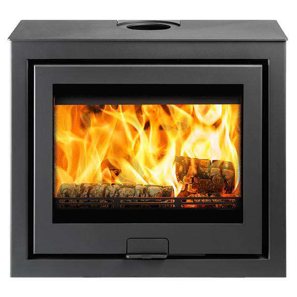 Di Lusso R6 Cube Multi Fuel / Wood Burning Stove - QUATTRO - Stove Supermarket