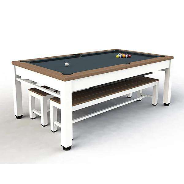 Riley Neptune 7ft Outdoor Pool / Diner - Tan & White