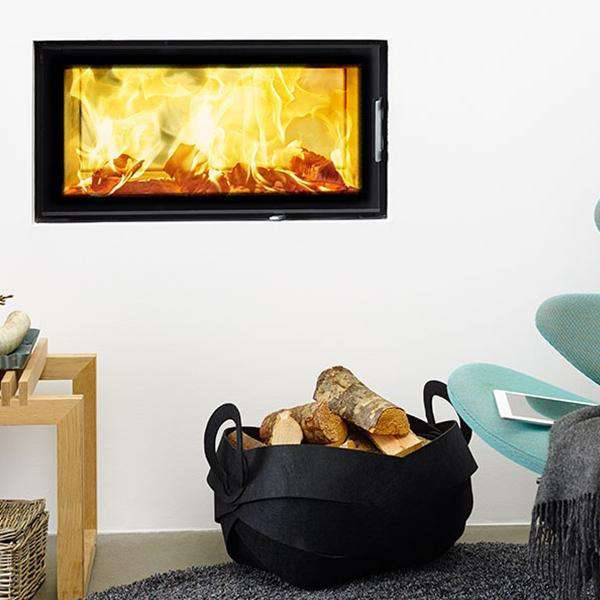 Morsø S120-21 Double Sided Insert Wood Burning Stove - Stove Supermarket