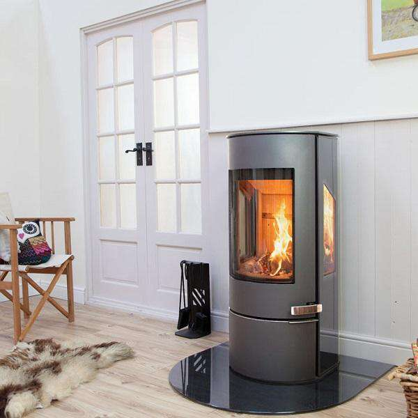 Mendip Somerton 2 Sideglass SE Wood Burning Stove - Stove Supermarket