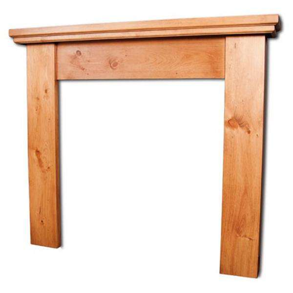 Portway Cottage Pine Fire Surround - Stove Supermarket