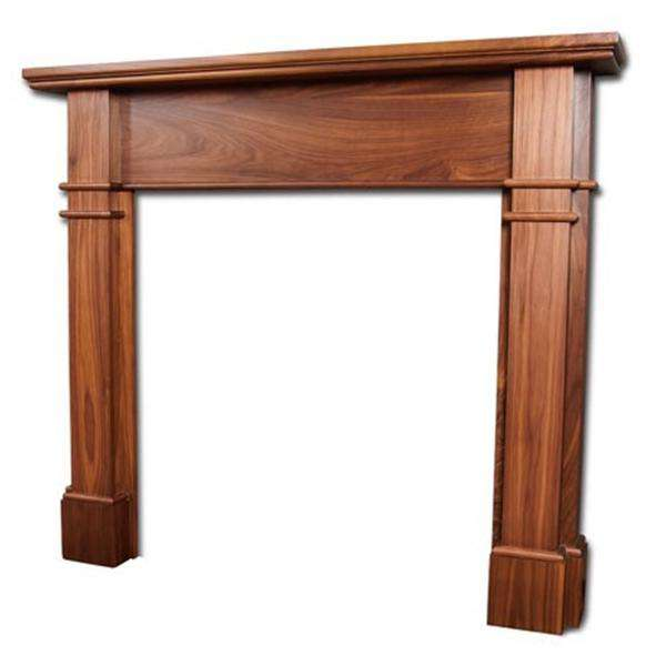 Portway Avington Walnut Fire Surround - Stove Supermarket