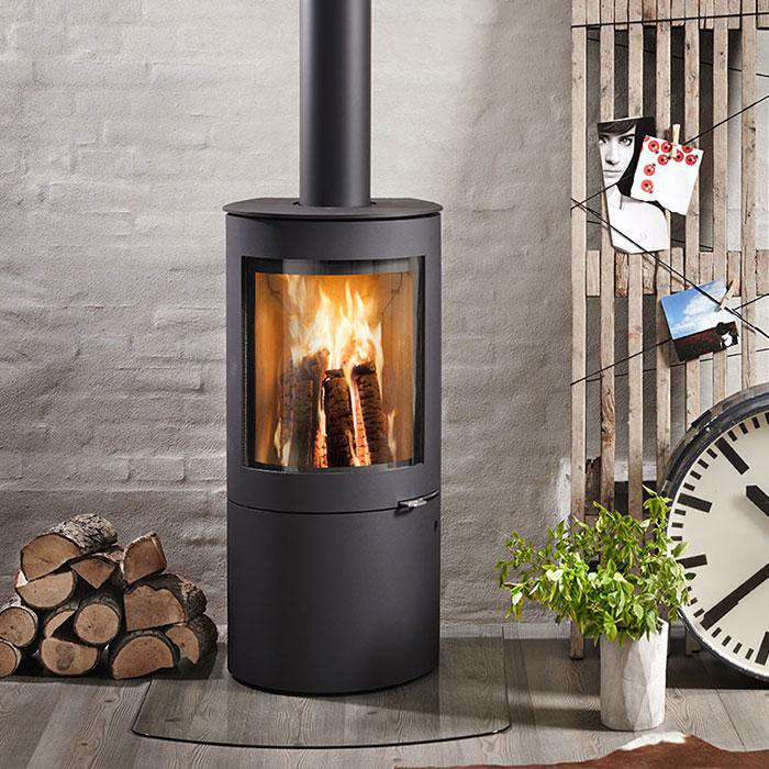 Westfire Uniq 26 Log Store Wood Burning Stove - Stove Supermarket