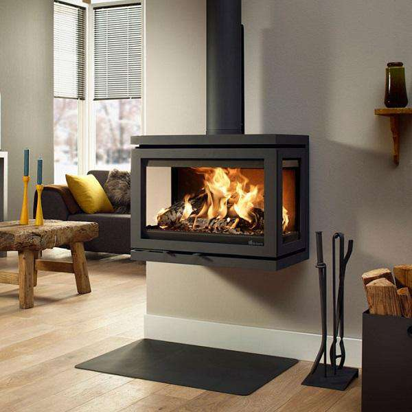 Dik Geurts Vidar Wall Wood Burning Stove - Stove Supermarket
