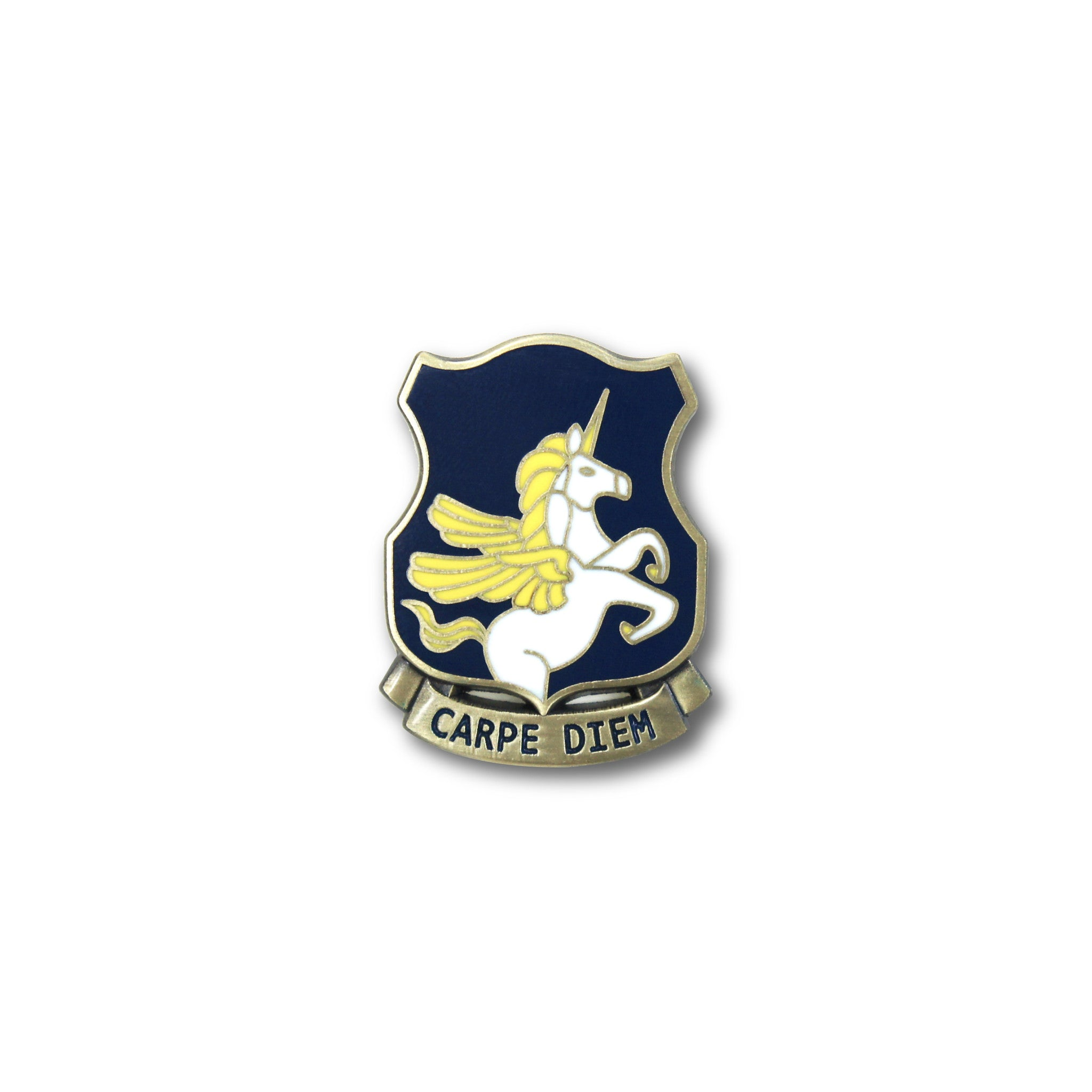 Carpe Diem Unicorn Lapel Pin Dorrarium
