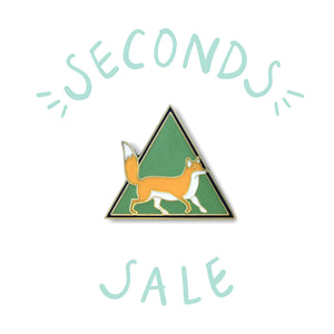 SECONDS SALE | Mr. Fox - DORRARIUM Lapel pin vintage surplus
