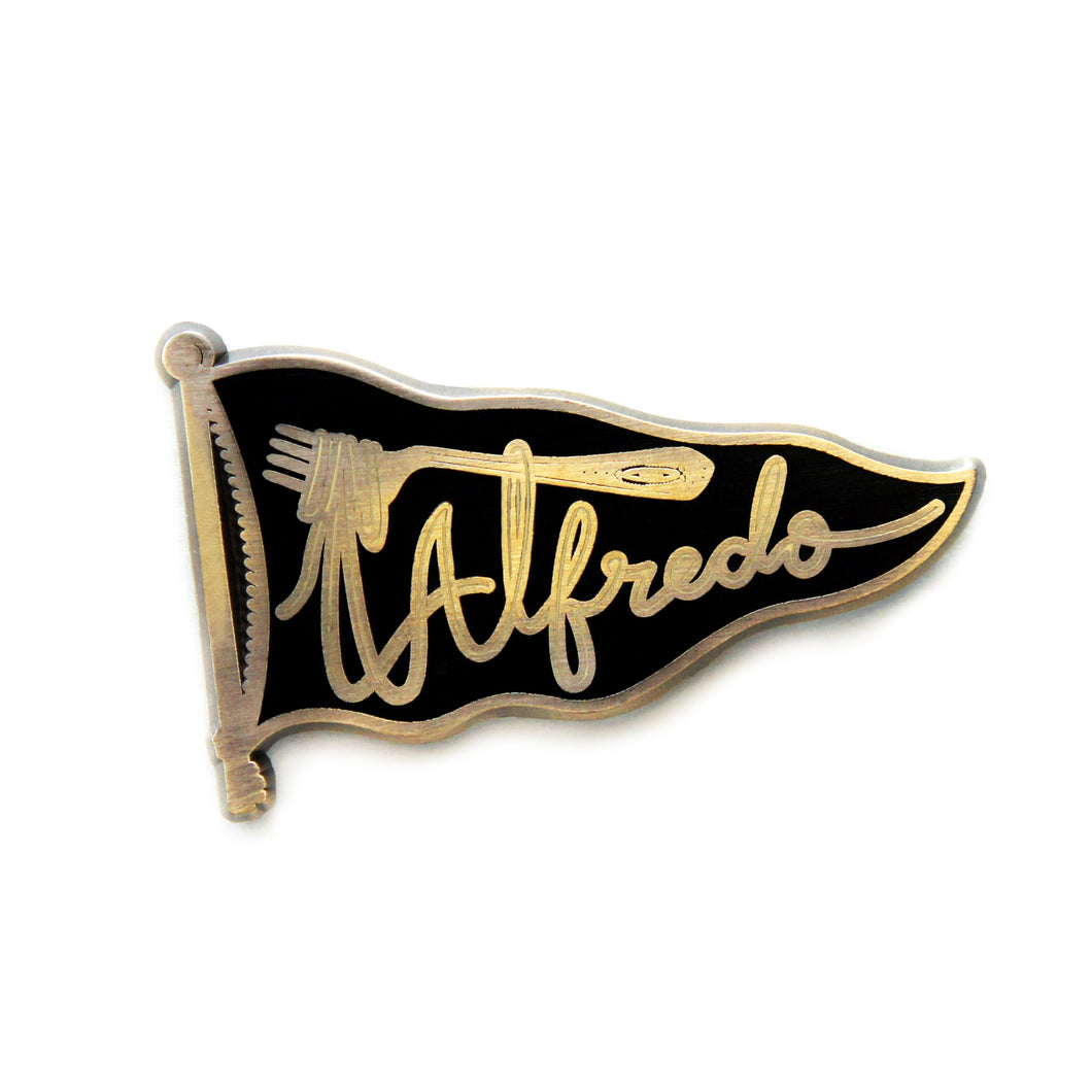Team Alfredo- Antique Black - DORRARIUM Lapel pin vintage surplus