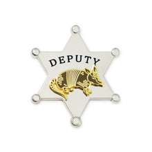 Sheriff R. Madillo - Silver Star - DORRARIUM Lapel pin vintage surplus