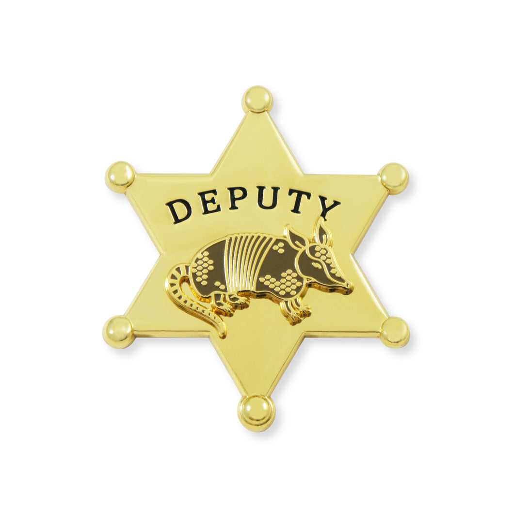 Sheriff R. Madillo - Golden Star - DORRARIUM Lapel pin vintage surplus