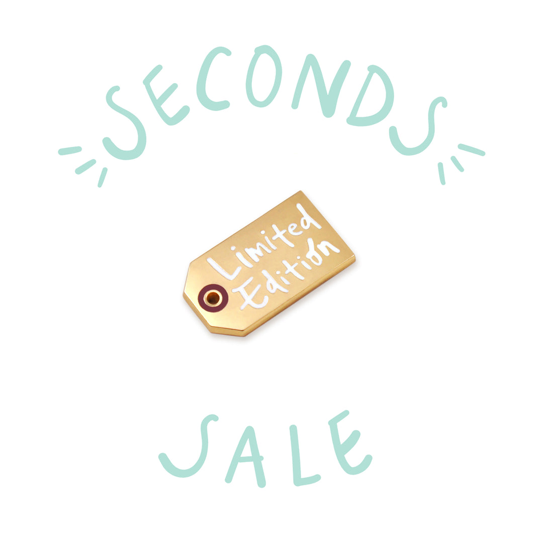 SECONDS SALE | Limited Edition - DORRARIUM Lapel pin vintage surplus