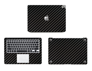 Theskinmantra Black Carbon Fiber for Macbook Air 13 inch on Big Discount Sale from 12th April to 14th April 2019.