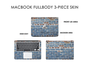 Wall Engraved DFY Macbook Skin Decal