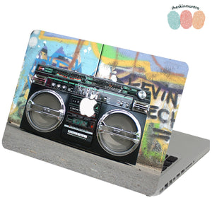 SOUND OF THE STREET Macbook Skin Decal