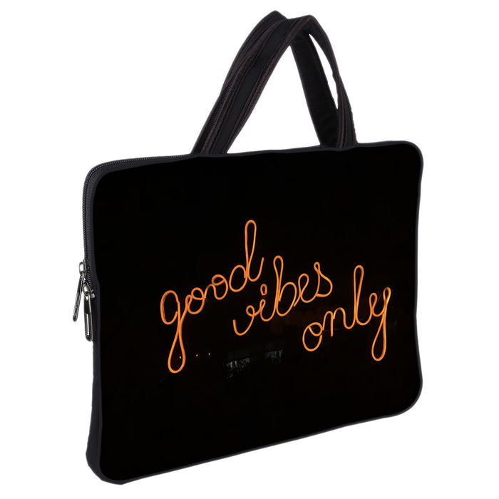 Good-Vibes-Only- Laptop-Macbook-Designer-Sleeve