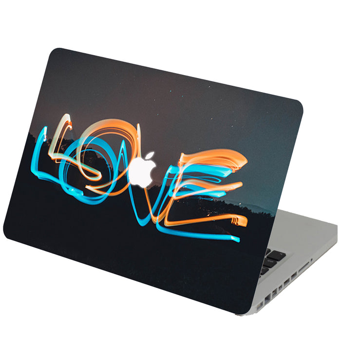 Scrambled Love Macbook Skin Decal