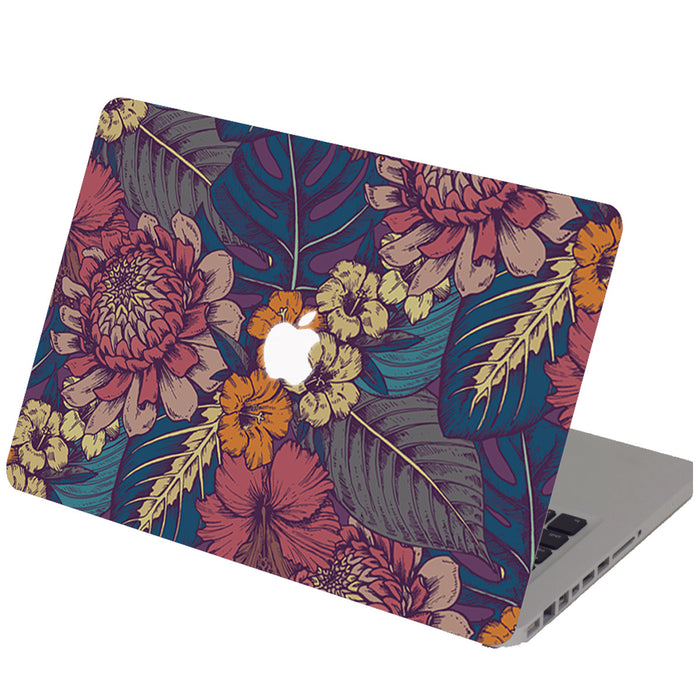 FLORAL POP ART Macbook Skin Decal