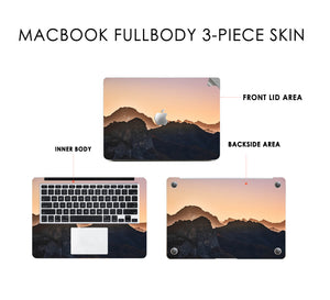 FIERY PEAKS Macbook Skin Decal